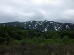 曇天の浅草岳