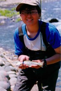 魚釣り自然観察