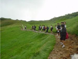 浅草岳登山